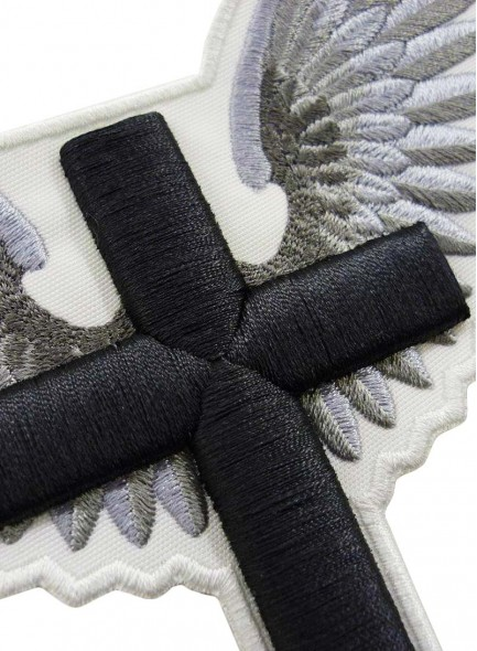 3D Вышивка крест с крыльями