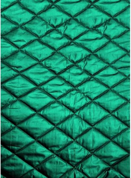 Стеганая курточная ткань голубого цвета