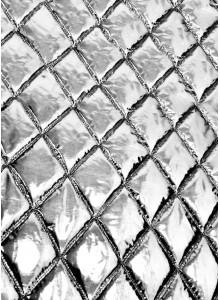 Курточная ткань серебряный металлик