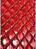 Курточная ткань красный металлик