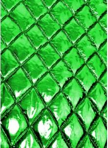 Курточная ткань зеленый металлик
