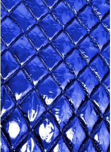 Курточная ткань синий металлик