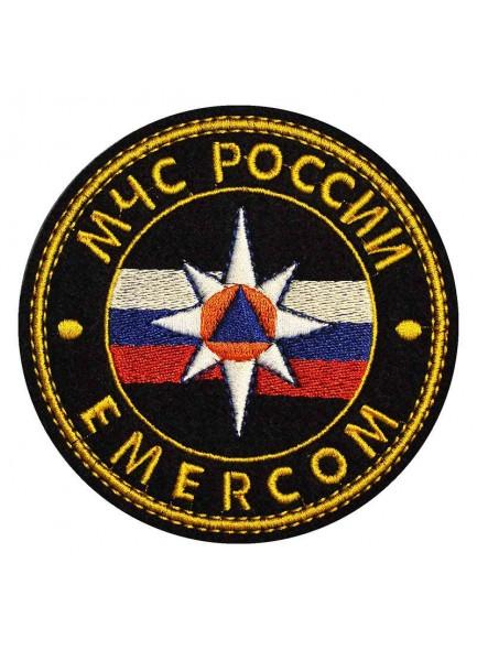 Нашивка МЧС России Emercom нагрудная