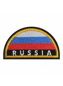 Шеврон МЧС Russia флаг на плечо