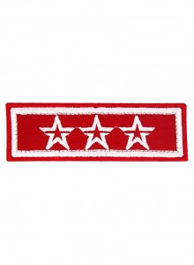 Нашивка на рукав Юнармии 3 звезды