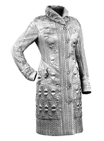 Стёжка пальто модель 2