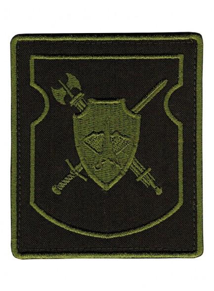 Шеврон военная полиция ВС РФ центрального военного округа поле