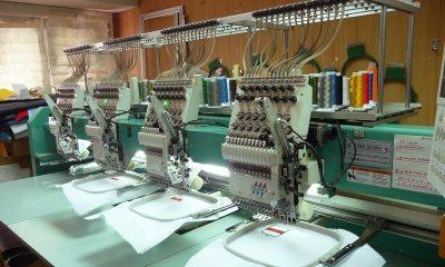Фото станка машинной вышивки